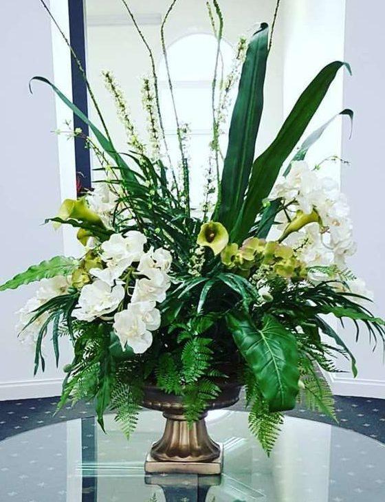 Custom made corporate flower arrangementsartificial flower arrangement