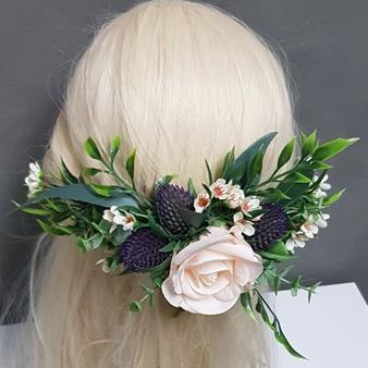 artificial hair flowers