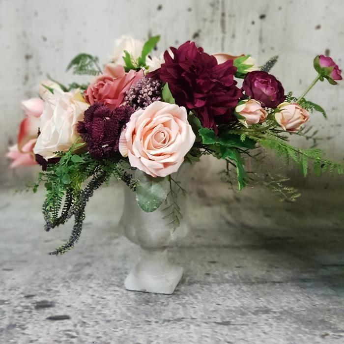 artificial flower arrangement