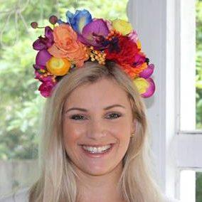 Hens flower crown