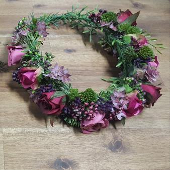 artificial flowercrown